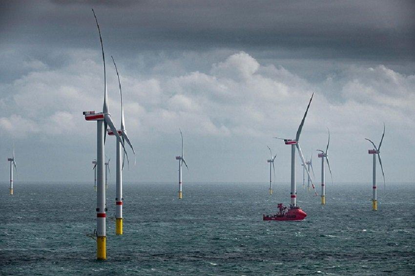 Merituulivoimaa yli 250 GW vuonna 2030