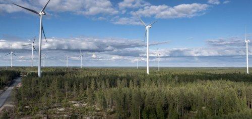 Vestasilta turbiinit EPV:n Norrskogeniin